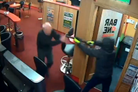 Watch: In Rare Heroics, 85-Year-Old Grandfather Foils Armed Robbery