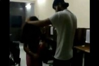 Delhi Police Suspends Cop Whose Son Thrashed Woman In Video