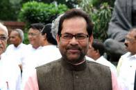 Rahul Gandhi Is Like A 'Pirated Laptop' With 'Fraud And Fake Words': Naqvi