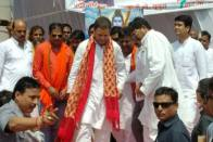 Congress Workers Welcome Rahul Gandhi With 'Shiv-Bhakt' Posters In Amethi