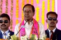 Video Showing Muslims Pledging Vote To TRS Goes Viral, Opposition Targets KCR