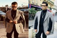 Director Karan Johar Attends Paris Fashion Week, In Style