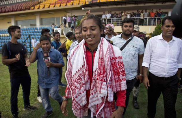 Sachin Tendulkar And Lionel Messi Are My Inspiration, Says Hima Das