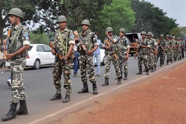 CRPF Jawan Commits Suicide In Chhattisgarh