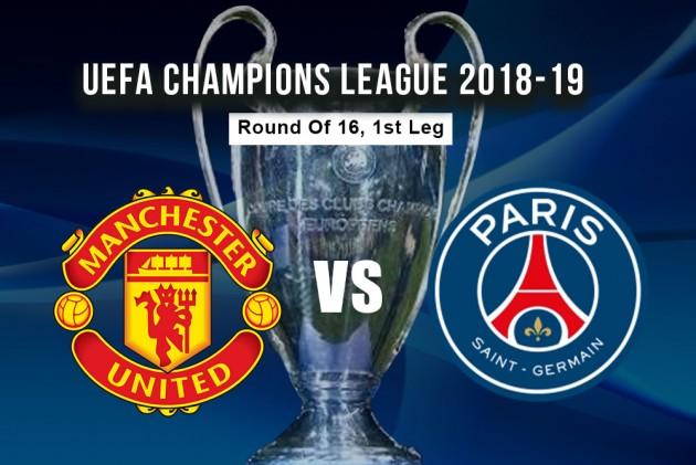 Image result for Manchester United vs Paris Saint-Germain UEFA Champions League 2019 Live pic logo