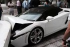 Car Worth Rs 4 Crores Gets Totalled In 4 Seconds