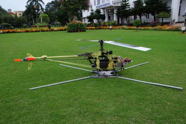 Meet The Mini-Helicopter: Weighs 10Kg, And Can Stay Airborne For An Hour