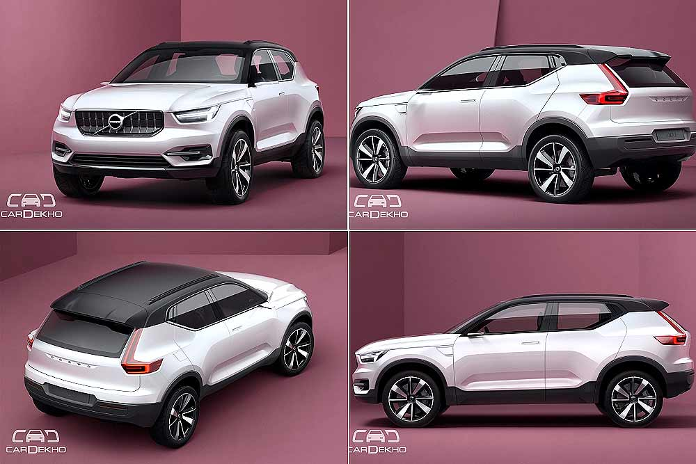 confirmed volvo to launch xc40 in india in 2018. Black Bedroom Furniture Sets. Home Design Ideas