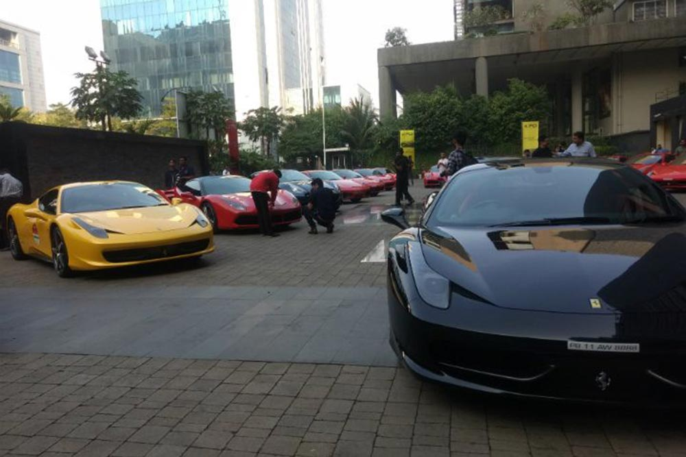 As I Made My Way To The Courtyard Of Sofitel In BKC Where The Cars Had  Assembled, I Felt As If Time Stood Still. The Sight Of 25 Sexy And Sleek  Supercars ...