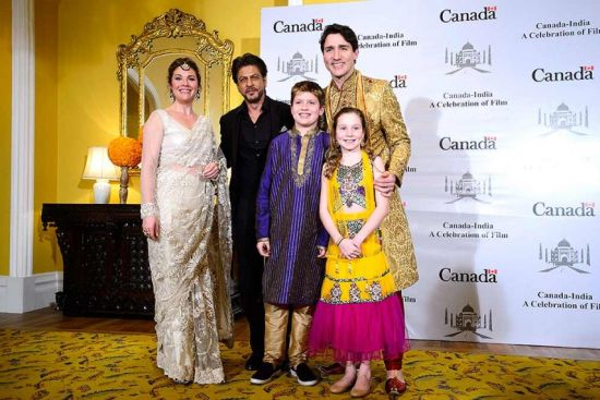 Trudeau Family S Attire Too Indian Even For An Indian