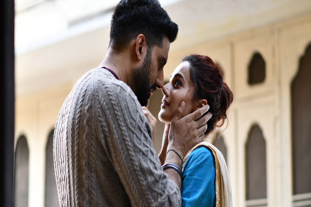 Abhishek Bachchan and Taapsee Pannu in Anurag Kashyap's latest feature, Manmarziyaan, which will have its world premiere at the Toronto International Film Festival