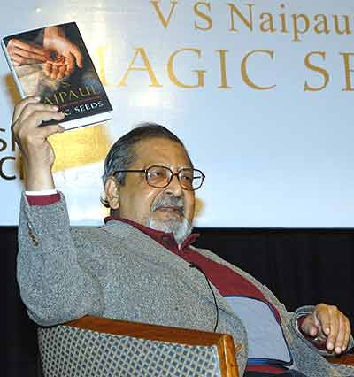 naipaul essays The writer and the world (2002) is a collection of essays and reportage  the book contains some of naipaul's most notable essays on post-colonial india.