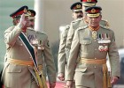Pakistan's President Gen. Pervez Musharraf salutes to his successor Gen. Ashfaq Kiyani in Rawalpindi, 2007.