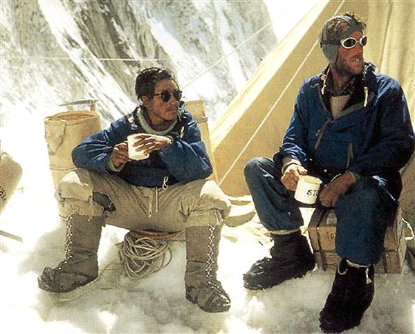 hillary and norgay essay May 29, 1953: edmund hillary and sherpa tenzing norgay are the first climbers  to reach the top of mount everest.