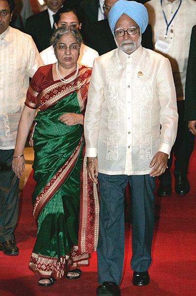 Manmohan Singh and Family