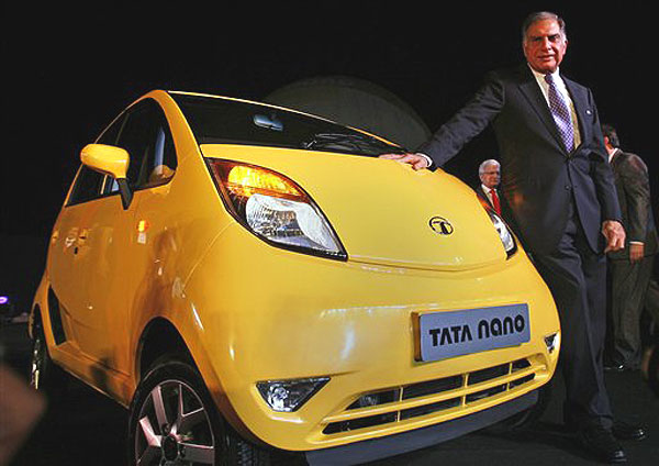 tata nano in usa Back in january, when tata first unveiled the nano at the delhi auto show,   america international auto show in detroit held the same month.
