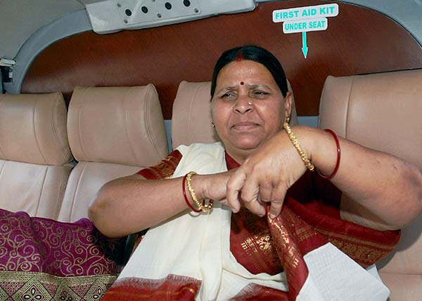 RJD Mobbed: Rabri Devi Loses Both Her Seats