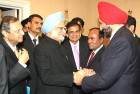 <b>Our man?</b> The PM with Chatwal at a function in the US