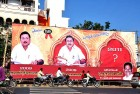 <b>Riddle-me-ree</b> An Azhagiri hoarding poses the succession question