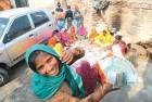 <b>Village notes</b> Taravanti at a meeting of her self-help group in Kutel Gamrhi