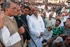 <b>After me, Rahul</b> Digvijay Singh addressing a gathering in Azamgarh