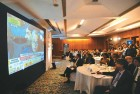 <b>Big picture</b> Following the budget at the CII, New Delhi