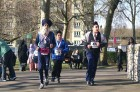 <b>In God he trusts</b> Fauja Singh in action during a marathon in London