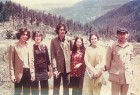Shahnawaz, Benazir, Murtaza, Sanam, Nusrat and Zulfikar Ali Bhutto in northern Pakistan