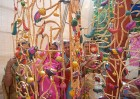 <b>Chic craftwork</b> Sikki screens woven by the craftswomen
