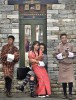 <b>Life in bhutan</B> The SMS generation in traditional chic
