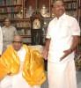 <b>Full circle</b> Ramadoss Sr with Karunanidhi