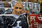 <b>Aged in waiting</b> Bhopal survivors at the courts on verdict day