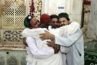 <b>Brothers in arms</b> Family members of victims of the bomb attack at Lahore's Data Ganj shrine grieve over their loss