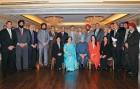 <b>Khalsa Raj</b> Manmohan Singh with Sikh MPs and state legislators of Canada
