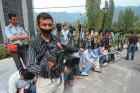 Kashmiri journalists protest the 'selective' media gag, July 12