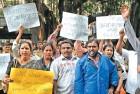 <B>Sarkar raj</b> Sambhaji Brigade protesters