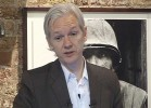File Photo: WikiLeaks founder Julian Assange speaks during a press conference in London.