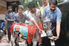 <b>Crying shame</b> A protest in Thane after reports of scams by the games organising committee appeared in the media