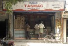 <b>Rise and shine</b> A 'wine shop' in Chennai gets a few early customers