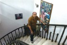 <b>A few steps to success</b> P.K. Banerjee, now 74, at his Salt Lake residence in Calcutta
