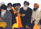 <b>Easy ploy?</b> The Badals at a function
