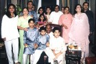 <b>The Enriched Circle:</b> Patriarch Dhirubhai Ambani in a rare photo from the mid-'90s with the whole, extended family