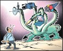 Ninan has earlier worked with <i>Outlook</I> and is currently with the <i>Times of India</i>. He contributed this illustration especially for this issue.