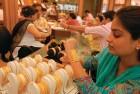 <b>If It Shines:</b> Urban consumers at a jewellery shop in Delhi