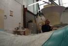 Anish Kapoor at his London workshop