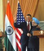 <b>We the emerged</b> President Obama and Manmohan Singh at the joint press conference in New Delhi