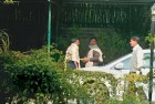 Under the lens A CBI raid in progress at the residence of A. Raja in Delhi