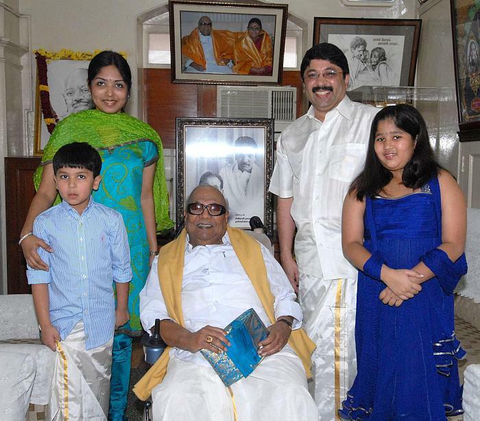 Outlook india photogallery dayanidhi maran for Maran house