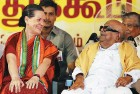<b>Read my lips</b> Sonia with the DMK chief