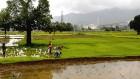 <b>It won't rain forever</b> Vedanta bauxite refinery plant in the Niyamgiri hills, Orissa